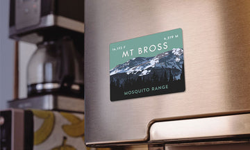 Mount Bross Colorado 14er Magnet