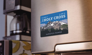 Mount of the Holy Cross Colorado 14er Magnet