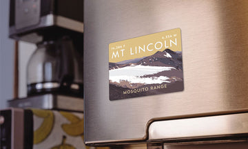 Mount Lincoln Colorado 14er Magnet