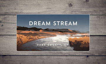 Dream Stream Colorado River Sticker