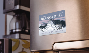 Blanca Peak Colorado 14er Magnet
