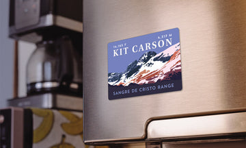Kit Carson Peak Colorado 14er Magnet