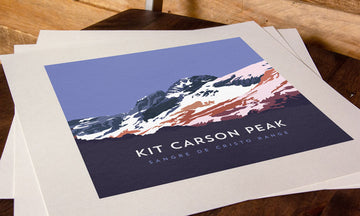 Kit Carson Peak Colorado 14er Print