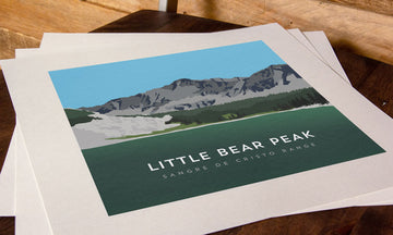Little Bear Peak Colorado 14er Print
