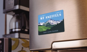 Mount Sneffels Colorado 14er Magnet