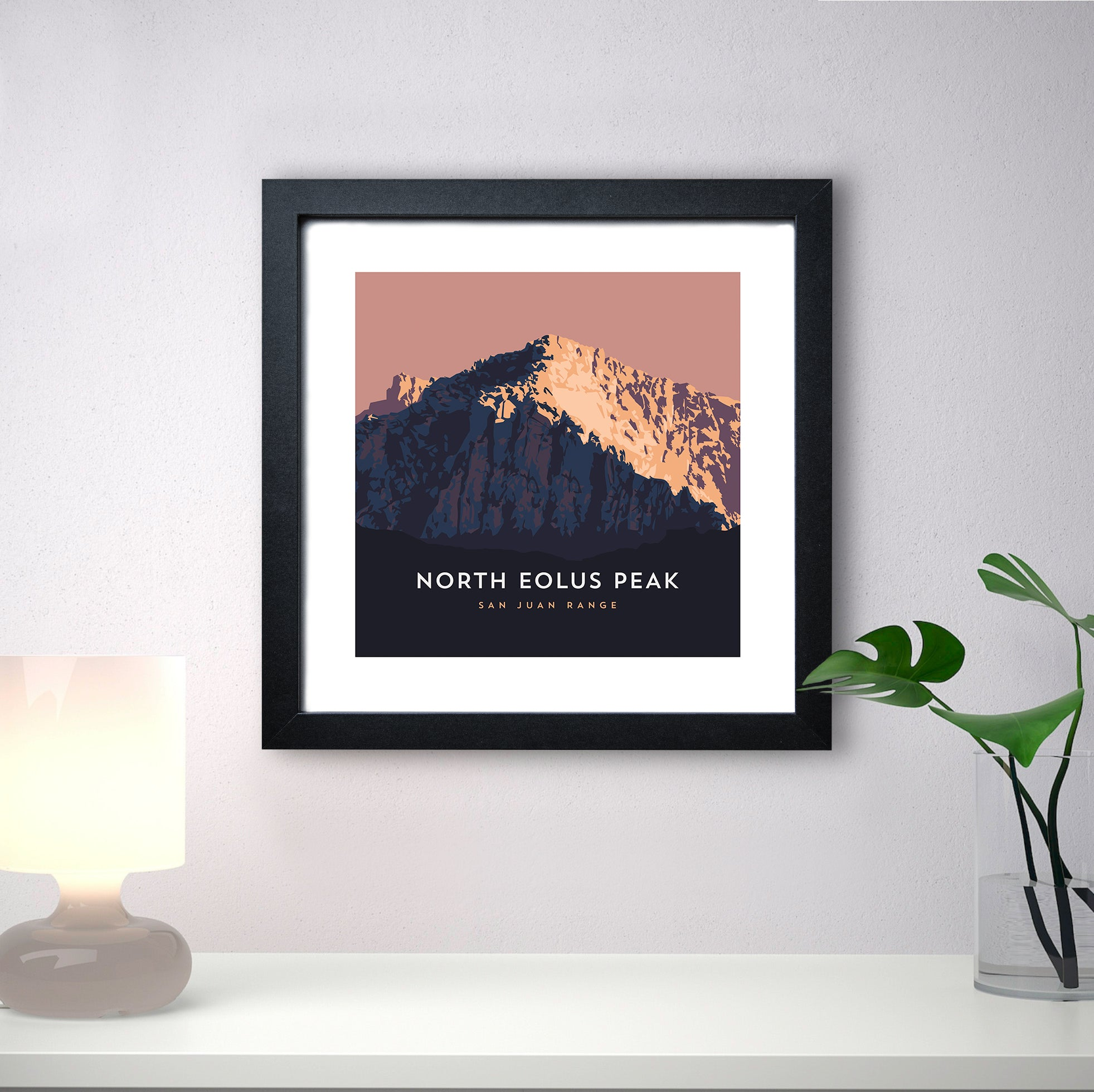 North Eolus Colorado 14er Print