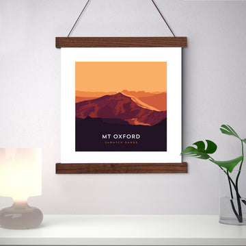 Mount Oxford Colorado 14er Print