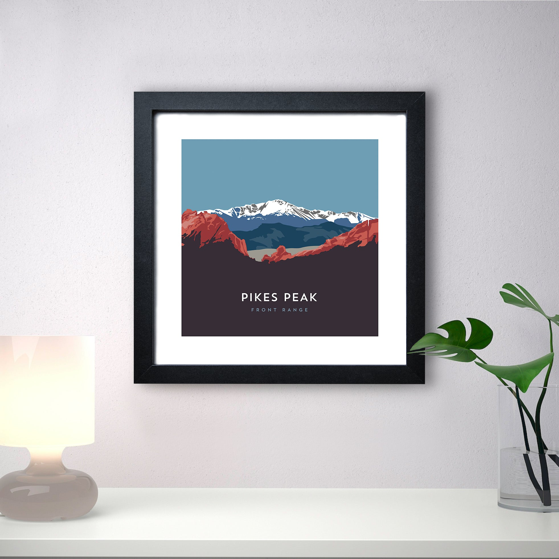 Pikes Peak Colorado 14er Print