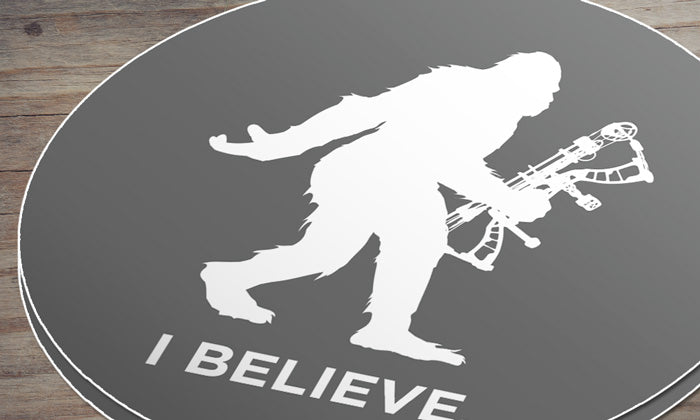 Sasquatch Archery Hunting Sticker