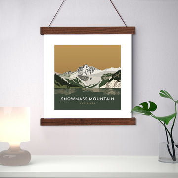 Snowmass Mountain Colorado 14er Print