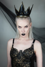 Dark queen latex crown