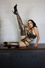 Full length latex stockings