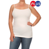 Long Cami- CURVY (One Size)