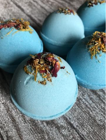 Cashmere and Silk Bath Bomb