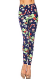 Leggings, Printed-ONE SIZE
