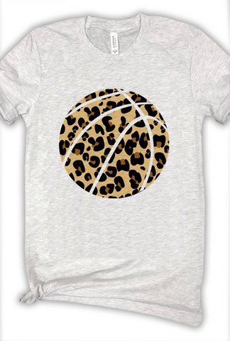 Leopard Basketball Tee