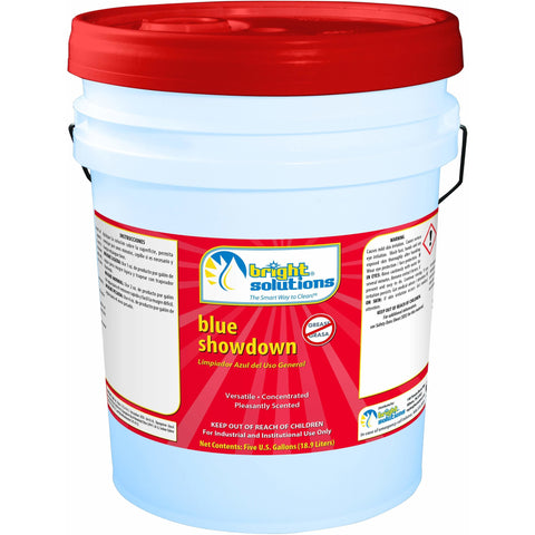 BSL BLUE SHOWDOWN AP CLEANER 5GAL 5360005