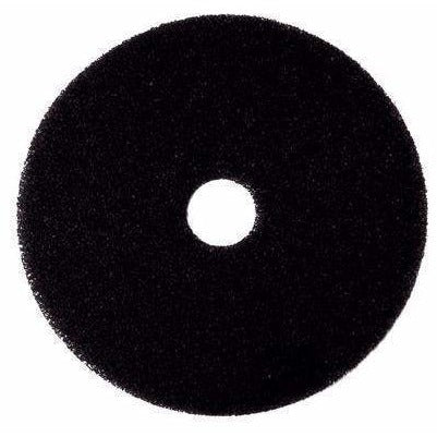 "400114 PAD THICK BLACK 14"" 5/CS"
