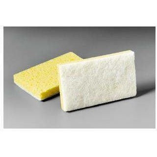551021 SPONGE W/63 LIGHT SCRUB PAD WHITE