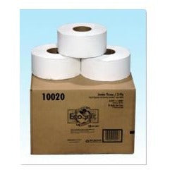 "10020 ECO JUMBO 2-PLY TISSUE 12X12000 9"" ROLL 10020"