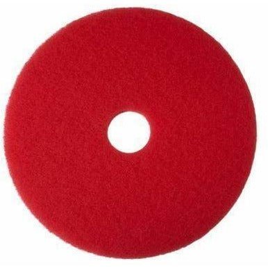 "404420 PAD BUFFING 20"" RED 5/CS"