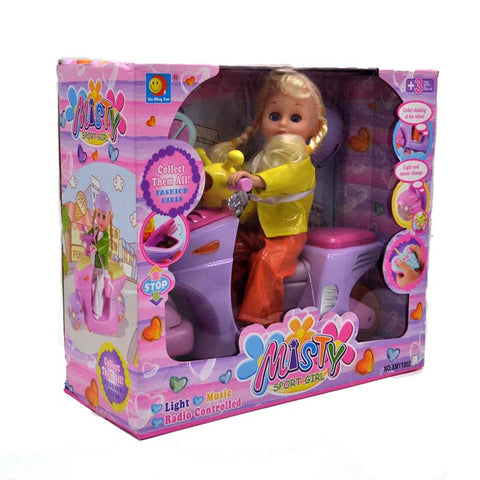 Remote Control Musical Scooty Doll Price In BD