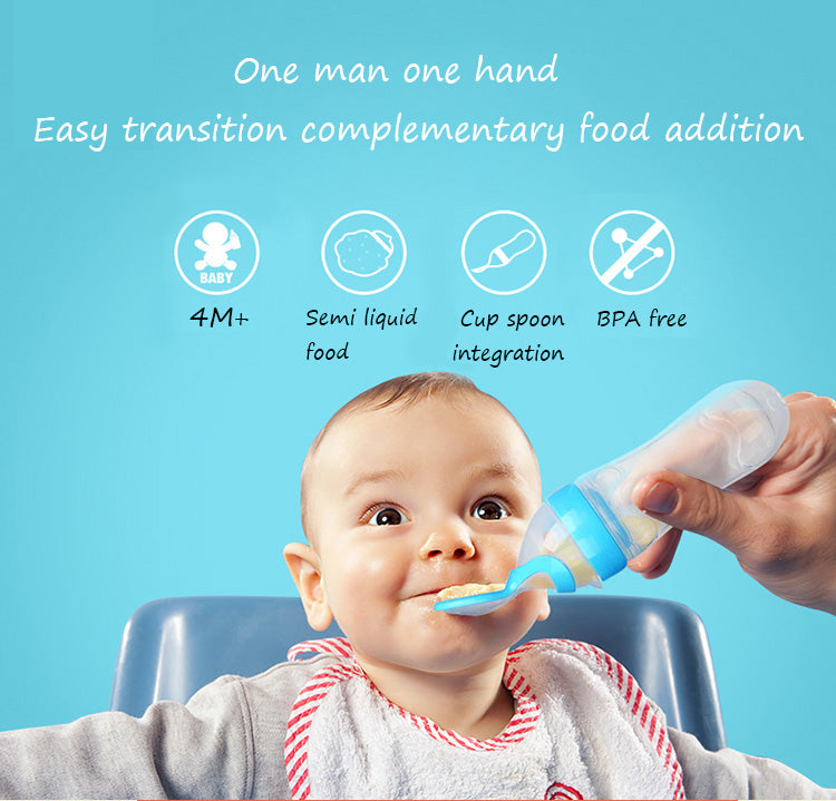 Infants Food Feeding Bottle
