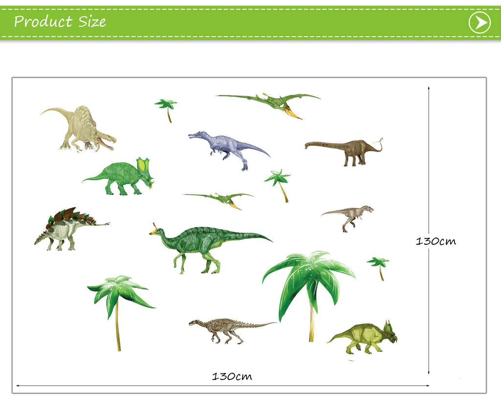 Dinosaur Cartoon Wall Stickers Collection in BD