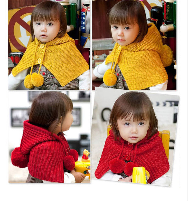 Children Winter Hat Infant Knitted Cap
