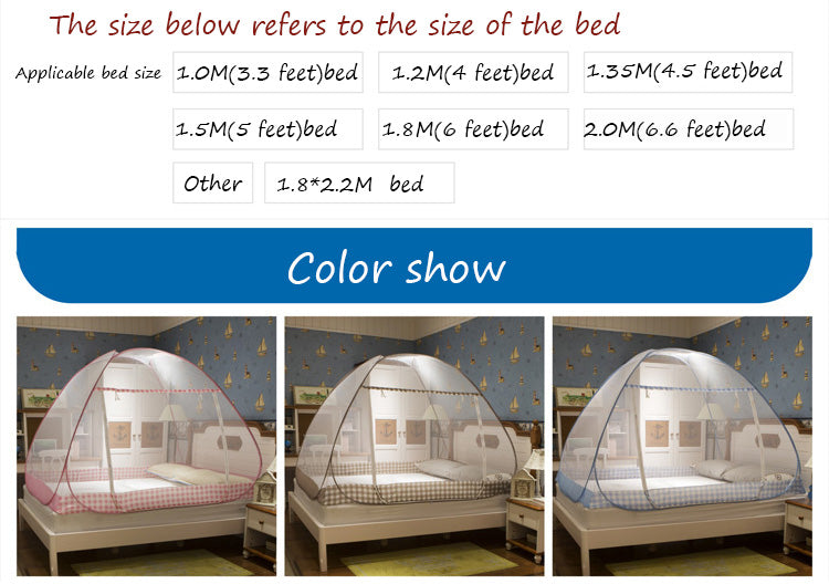 Folding Free Stand High Quality Single Door Mosquito Net in BD
