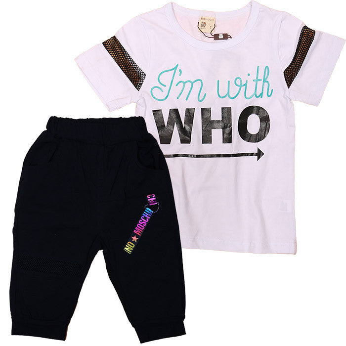 Boy T-shirt & long pants