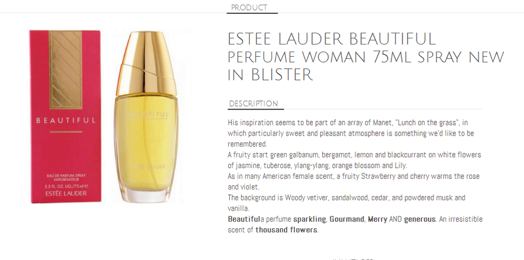 BEAUTIFUL Women Eau De Parfum