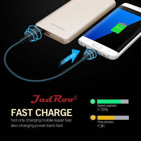 JadRoo 10000mAh Portable Power Bank Price in BD
