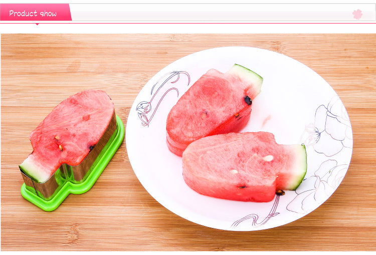Creative Popsicle Model Shape Watermelon Slicer Price in Online