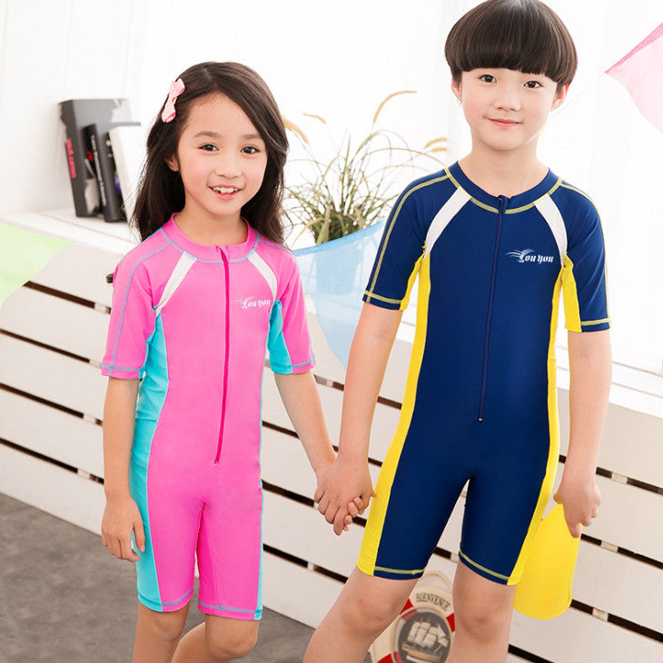 Children Beach Wear Diving Swimming Suit