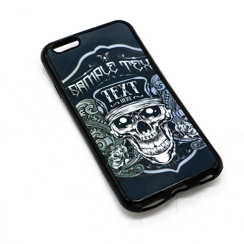 Singles Repeating Black Mobile case