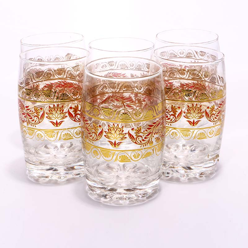 Exclusive Gorgeous Design Water Glass Price in Online