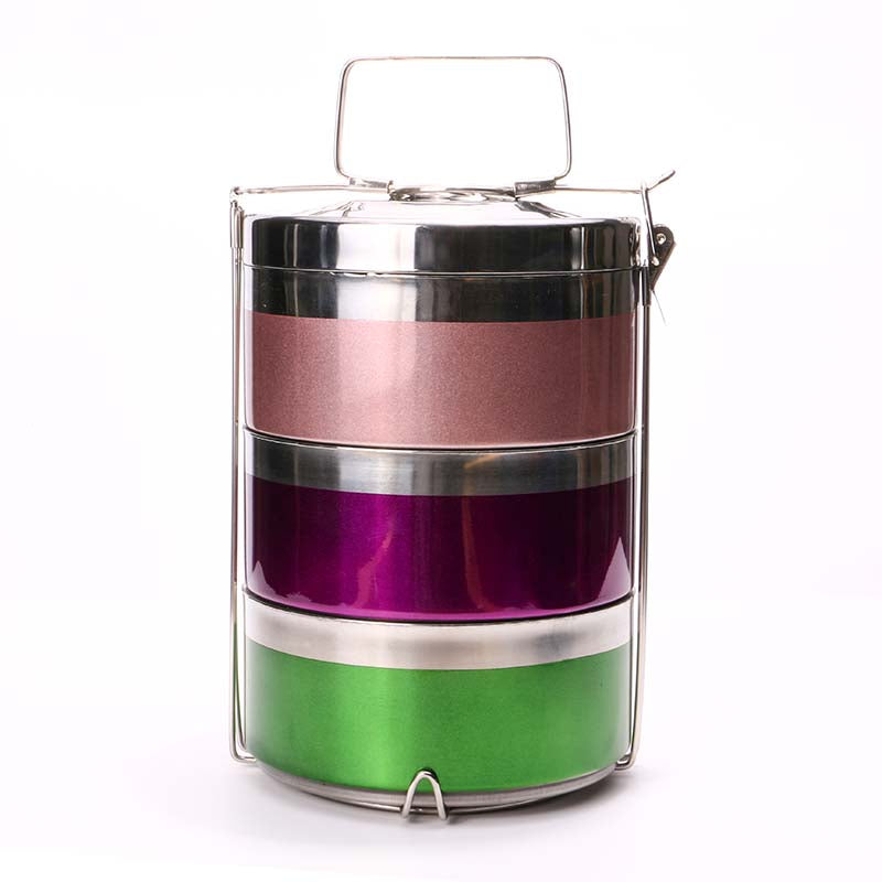 Multi Color Stainless Steel Tiffin Carrier Price in Online