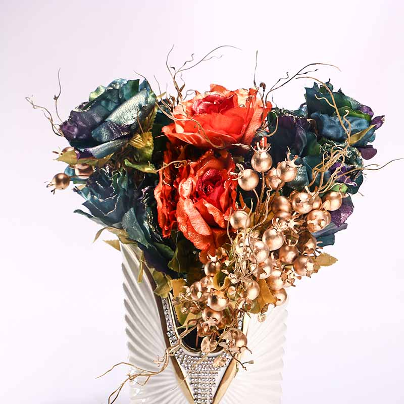Nearly Artificial Silk Flower Arrangement