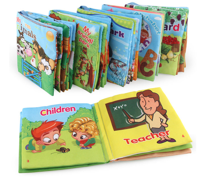 Children's Cute Animals Story Tale Cloth Book Price in Online