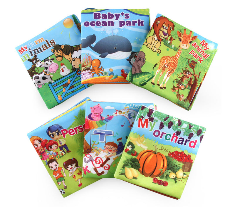 Children's Animals Story Tale Cloth Book Price in BD Online