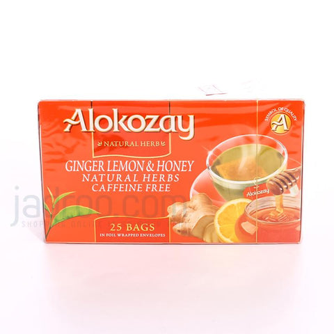ALOKOZAY TEA GINGER LEMON & HONEY 45 GM