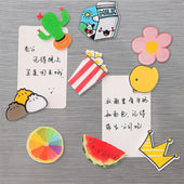 Cartoon Fridge Magnet Sticker,Cute Funny silicones Refrigerator Magnets