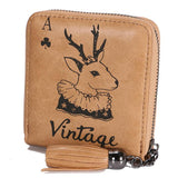 Women Wallet Short Zipper Ladies Coin Purse Lady wallet
