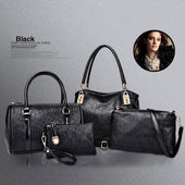 Lady Bags, Lady Bag set, Fashion Lady Bags 4pcs Women Handbags Set
