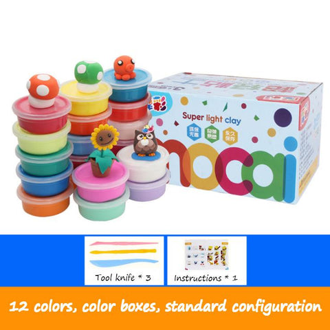 Clay Set,play dough,12 colors