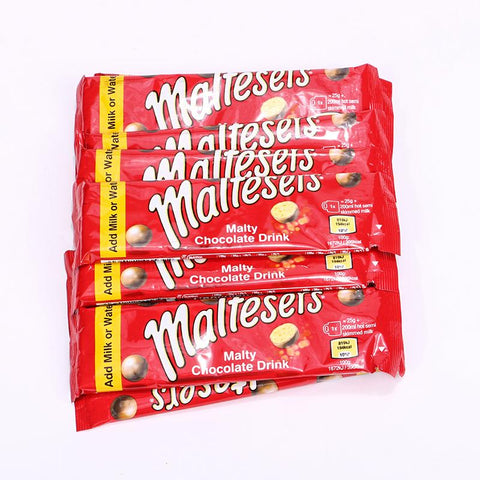 MALTESERS FROTHY TOP MALTY CHOCOLATE DRINK 25GM STICK,(1PACK)