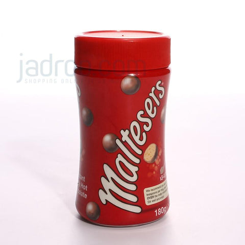 MALTESERS INSTANT MALTY HOT CHOCOLATE JAR 180GM