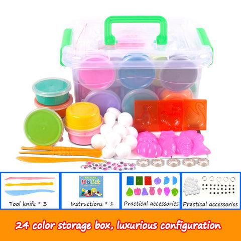 Clay Set,play dough,24 colors