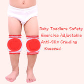 Baby Toddlers Safety Exercise Adjustable Anti-Slip Crawling Kneepad